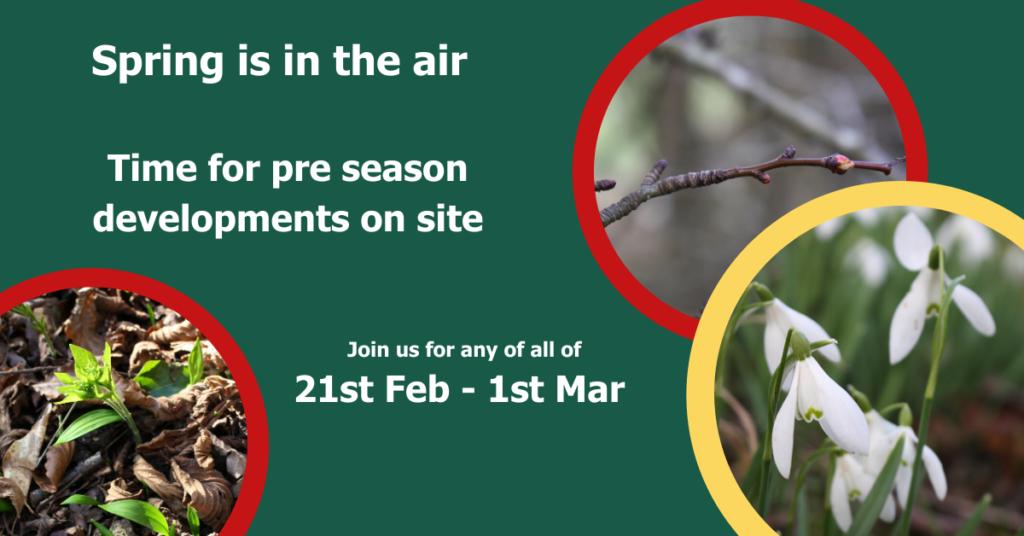 Pre season working week 21st Feb - 1st Mar 2020