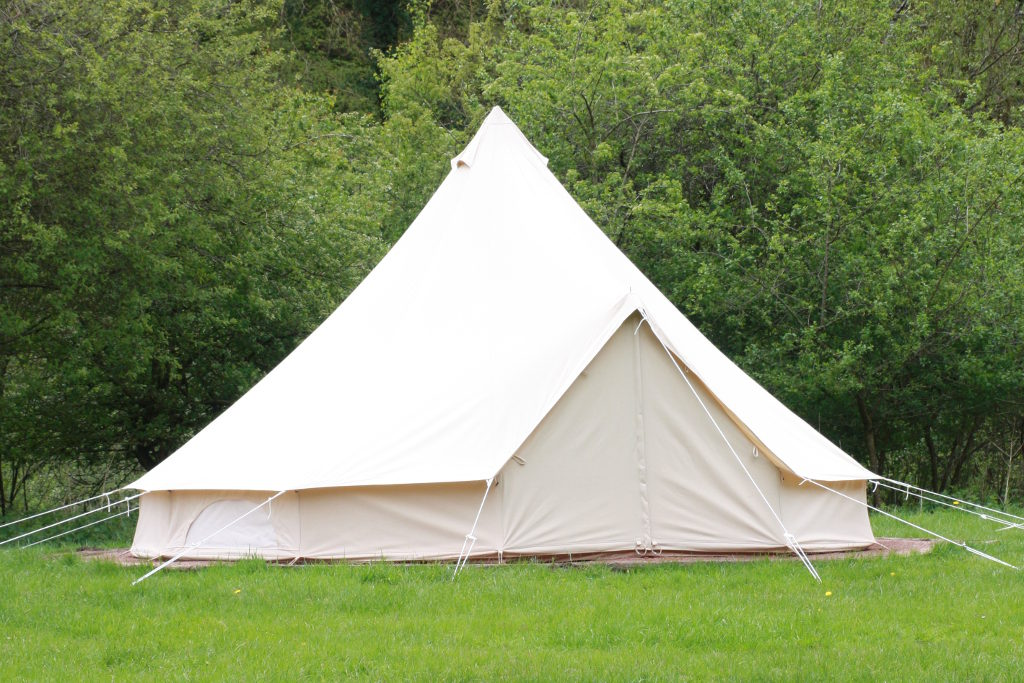 Bell tent, part of Camp Koodoo