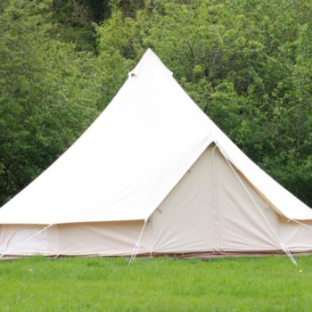 White camp Kudoo bell tent