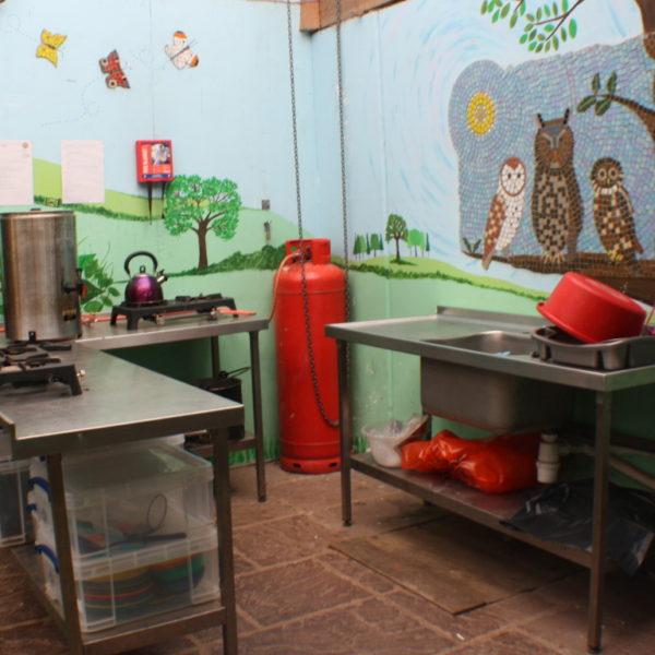 The Burrow Kitchen