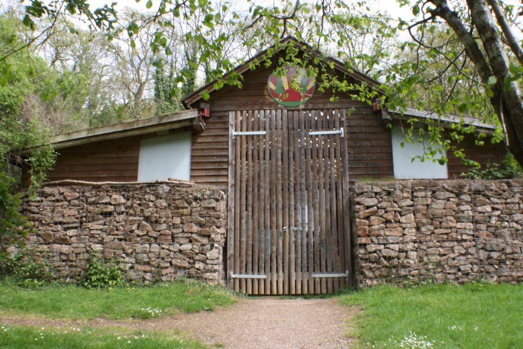 Front door of The Burrow